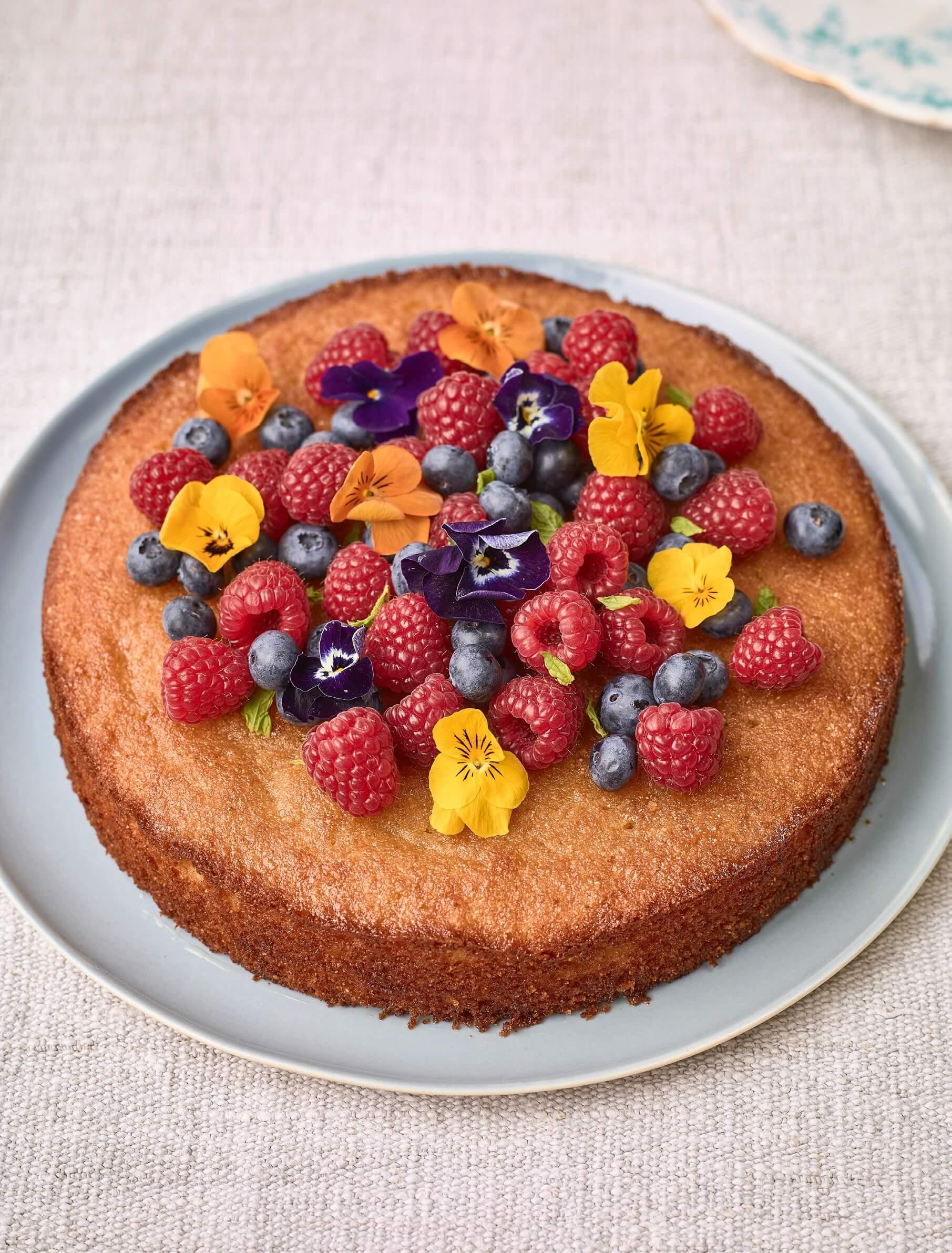 Gluten Free Cake Ground Almonds Maple Syrup