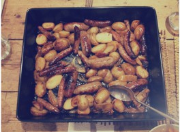 Sausage, Apple & Thyme